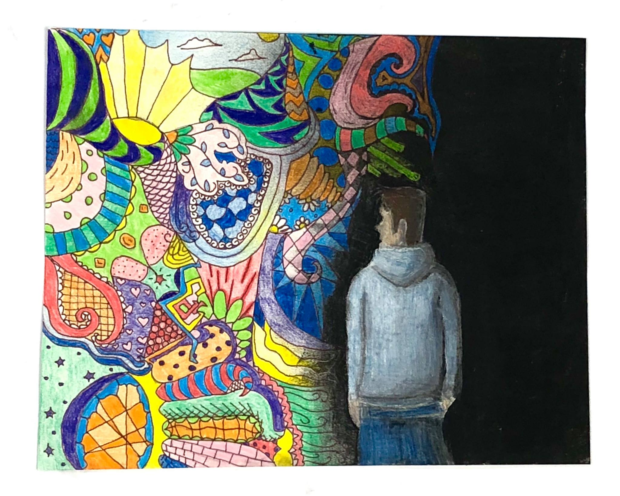 Hope Against Addiction Art Contest Winner Catherine Smith '19