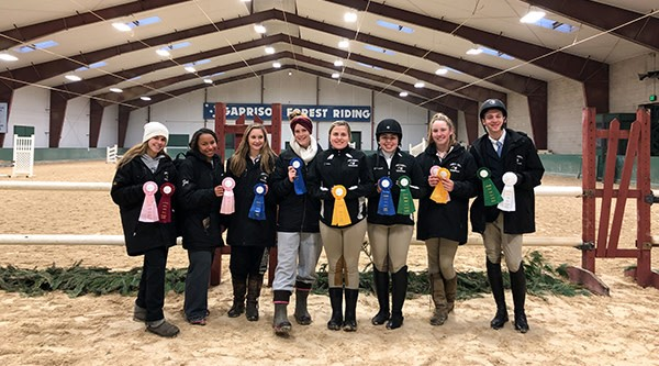 Equestrian Team's Success at Co-hosted Show!
