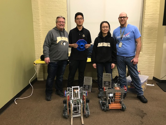 JC's Robotics Team Competes at the Baltimore Robotics Center