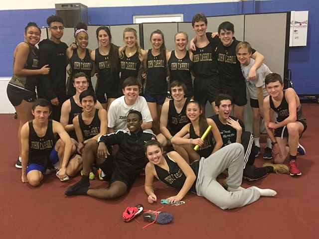 Indoor Track Team Sprinted Their Way to Another  Outstanding Meet