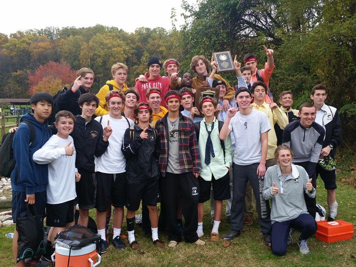 John Carroll Cross Country Champions