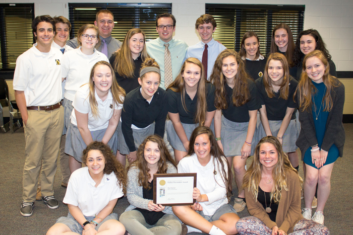 The Patriot Student Newspaper, Winners of the Online Pacemaker Award