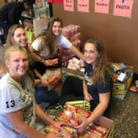 Annual Thanksgiving Food Drive a Huge Success!