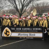 Band and Cheerleading Team Participates in the 20th Holiday Parade on The Avenue at White