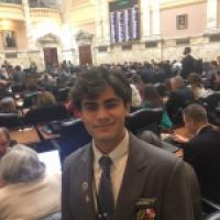 Garrett Frankis '19 Represents JC as a Page in Annapolis
