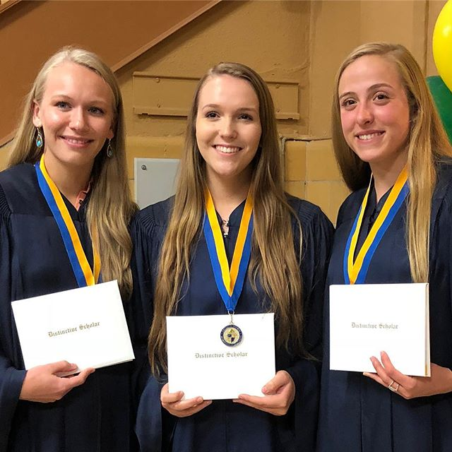 Patriots honored at Distinctive Scholars Convocation