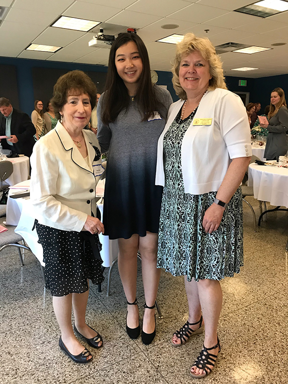 Christina Zhang honored at annual Dr. Judith Resnik Awards ceremony
