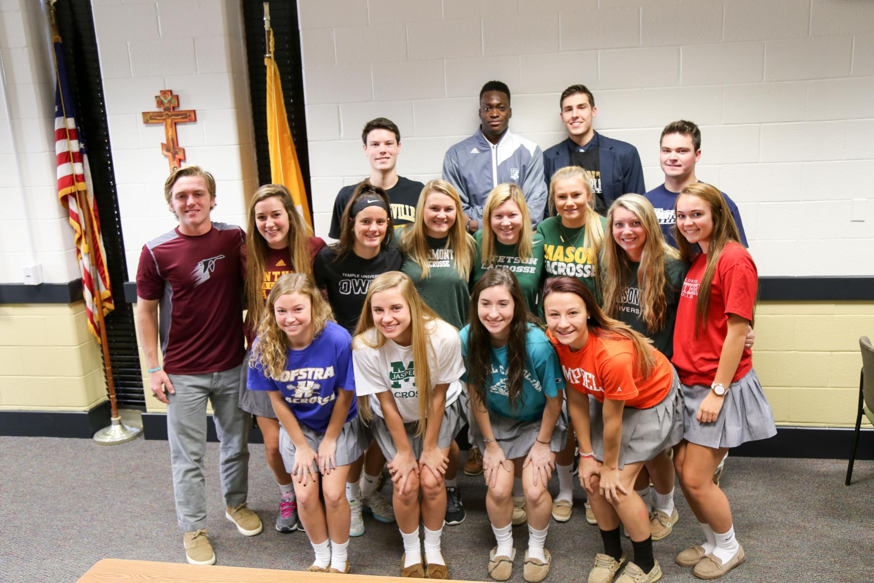 John Carroll Seniors at Signing Day