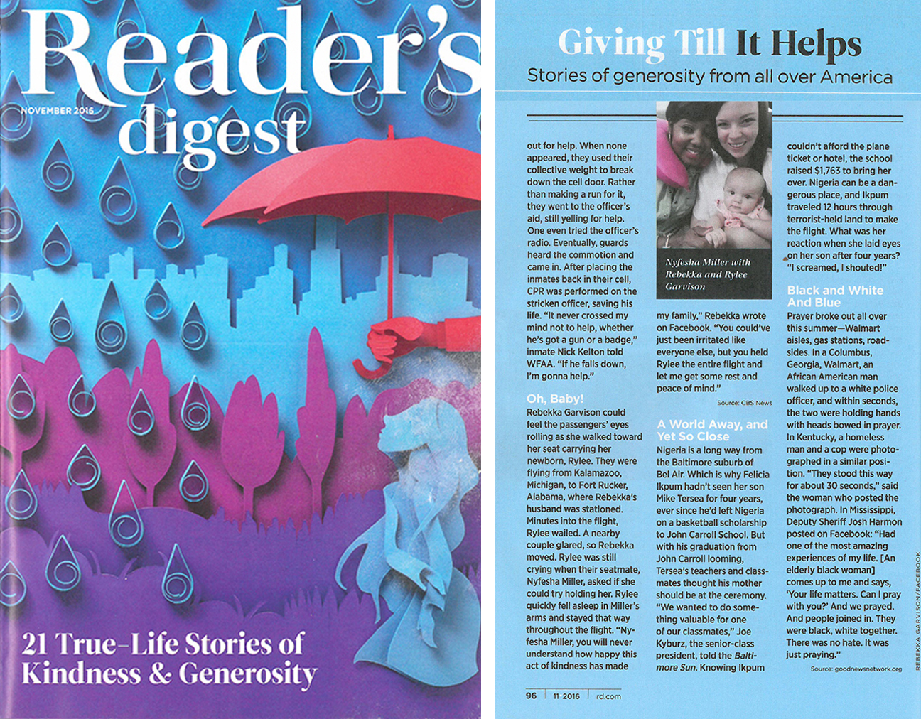 Tertsea Reader's Digest Article